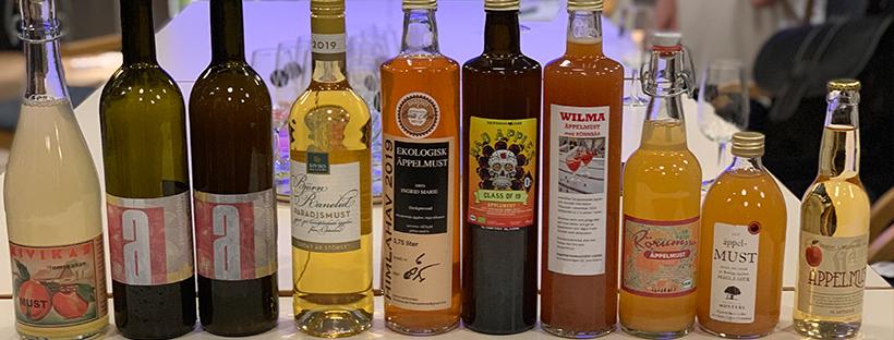 MUST-SM flaskor liggande